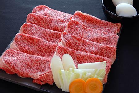 山形牛「もち米給与牛」すき焼き用 800g 030-D01
