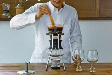 6.☆世界中で愛されるHARIOのコーヒーメーカー☆ コーヒーサイフォン ハリオ ソムリエ600ml(5杯用) SCA-5 ふるさと納税