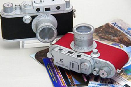 ペーパークラフト アンティークカメラ