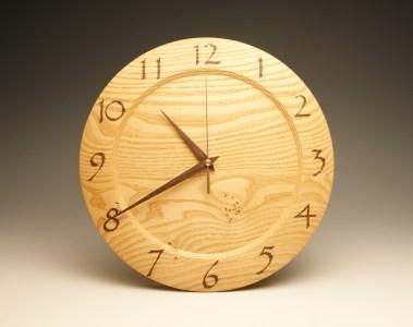 木の時計 栗