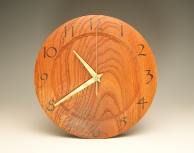 木の時計 香椿