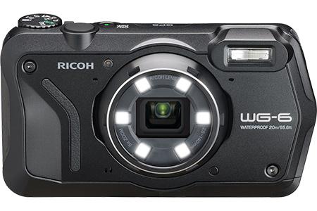 リコーデジタルカメラ WG-6(ブラック)