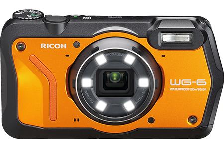 リコーデジタルカメラ WG-6(オレンジ)
