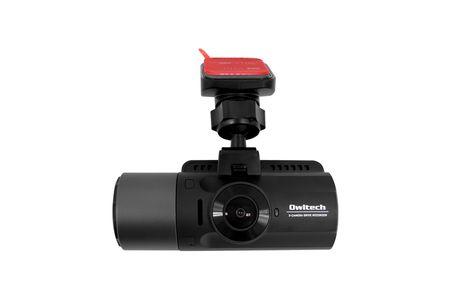 車の前後・車内の3カメラ同時録画  夜間に強い高画質ドライブレコーダー OWL-DR803FG-3C