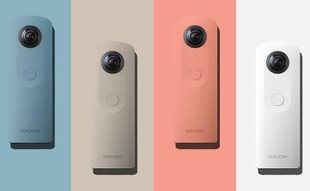 全方位・ハイスペックデジタルカメラ<RICOH THETA SC>PINK