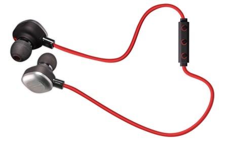 イコライザー機能搭載ワイヤレスイヤホンOWL-BTEP12-RED