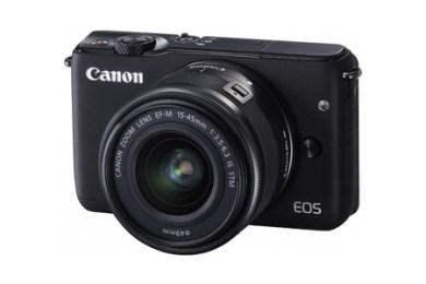 ミラーレスカメラ EOS M10 レンズキット(ブラック)