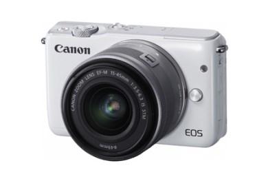 ミラーレスカメラ EOS M10 レンズキット(ホワイト)