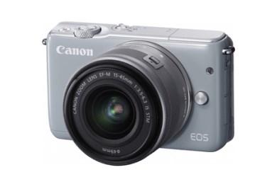 ミラーレスカメラ EOS M10 レンズキット(グレー)