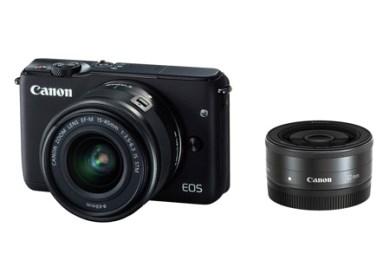 ミラーレスカメラ EOS M10 ダブルレンズキット(ブラック)