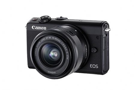 ミラーレスカメラ EOS M100 レンズキット(ブラック)