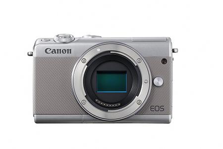 ミラーレスカメラ EOS M100 ボディ(グレー)