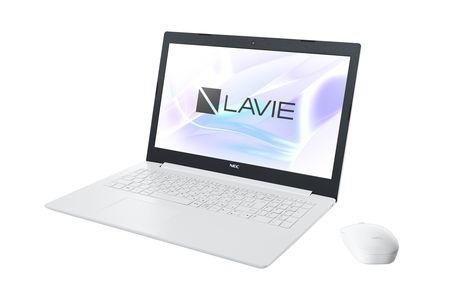 NEC製 15.6型ノート[LAVIE Direct NS(カームホワイト)]