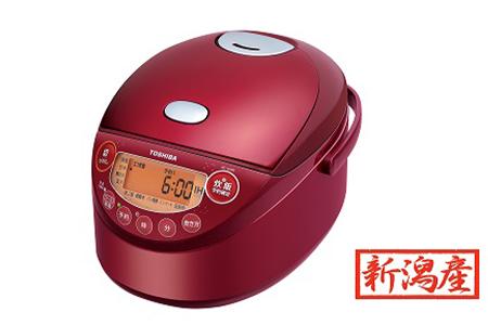【新潟産】東芝IHジャー炊飯器 RC-6XM(R) 3.5合