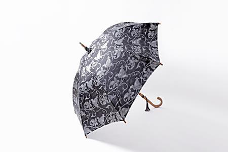 高級晴雨兼用傘「透彩」   グレー系