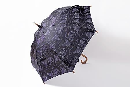 高級晴雨兼用傘「透彩」   パープル系