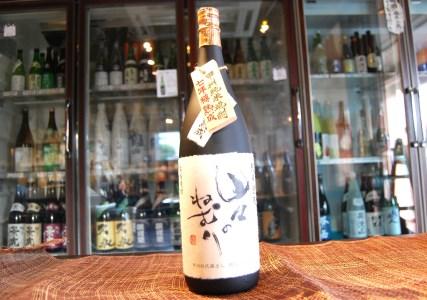 甲州純米焼酎「七年樽熟成 山々のねむり」1.8ℓ