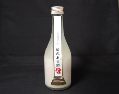 【富士山湧水仕込み】 吟撰酒粕仕立て 蔵元あま酒 300mℓ 6本詰め合わせ