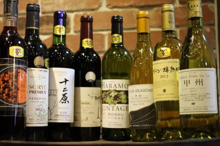 甲州市推奨ワイン白赤飲みくらべセット