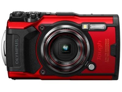 コンパクトデジタルカメラ Tough TG-6 RED(レッド)