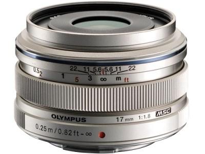 交換レンズ M.ZUIKO DIGITAL 17mmF1.8(シルバー)