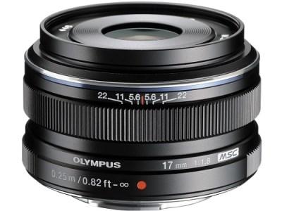 交換レンズ M.ZUIKO DIGITAL 17mmF1.8(ブラック)