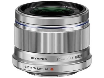 交換レンズ M.ZUIKO DIGITAL 25mmF1.8(シルバー)