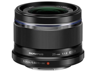 交換レンズ M.ZUIKO DIGITAL 25mmF1.8(ブラック)