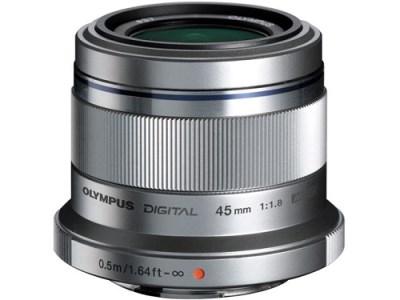 交換レンズ M.ZUIKO DIGITAL 45mmF1.8(シルバー)