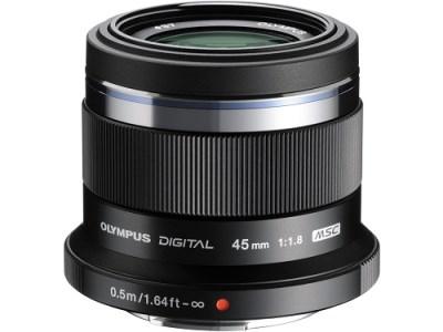 交換レンズ M.ZUIKO DIGITAL 45mmF1.8(ブラック)