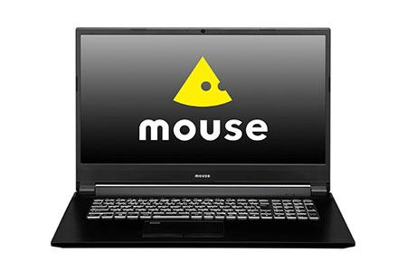 「made in 飯山」マウスコンピューター  大画面17.3型ノートPC「m-Book W890BN-M2S2-IIYAMA」