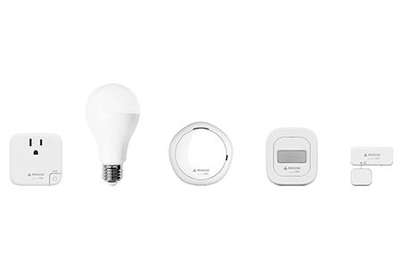 [H]スマートホーム スターターキット[ SK01/5点セット]+スマート空気清浄機 + PM2.5センサー標準の計7点セット
