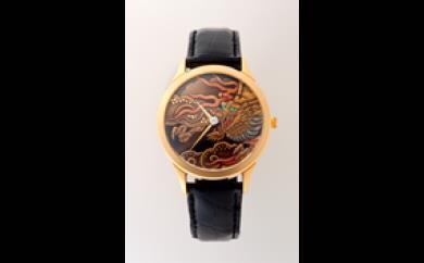 蒔絵(まきえ)時計 男性用