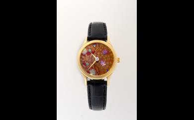 蒔絵(まきえ)時計 女性用