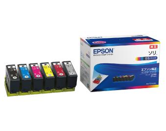 インクカートリッジ SOR-6CL(EP50VA対応)