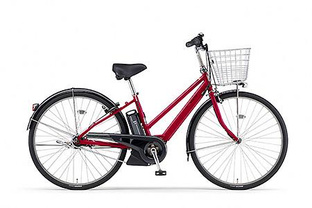 190YAMAHA電動アシスト自転車(CITY-S5)(レッド)