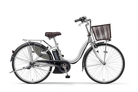 191YAMAHA電動アシスト自転車(ナチュラM)(24インチ・シルバー)