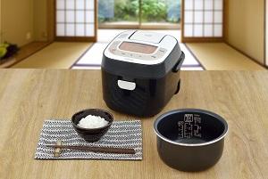 米屋の旨み 銘柄炊き ジャー炊飯器3合RC-MB30-B
